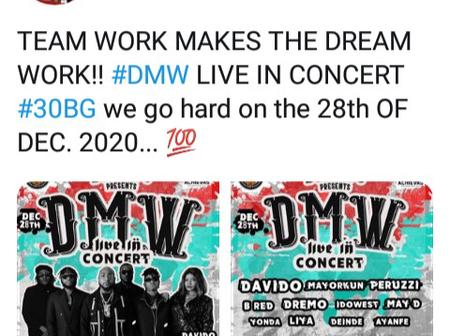 See what May D said about the upcoming DMW concert