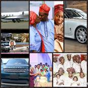 Pastor E.A. Adeboye is 79 years old Today, See Pictures of his Family, Cars and private Jets