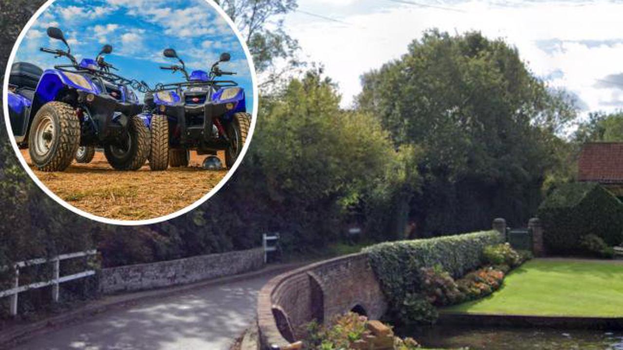 Patrols in village after complaints of anti-social behaviour on quad bikes
