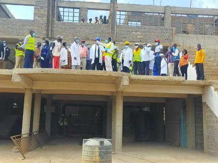 (PHOTOS) Progress Of Manga Stadium In Nyamira County