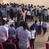 Lecturer Beaten Up By Students For Doing This In Examination Hall