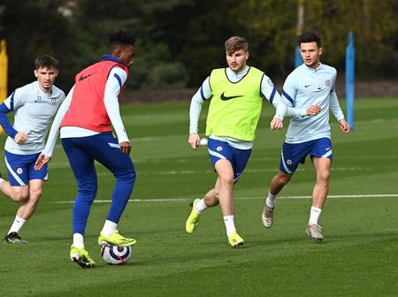 Chelsea Fans Rejoice As Callum Hudson Odio Was Spotted In Training Today