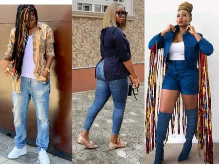 Denim Fashion: Between Yemi Alade And Tiwa Savage, Whose Sense Of Fashion the Beat?(Picture)
