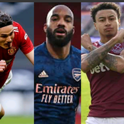 After Lingard, Iheanacho, Cavani, Lacazette Scored Today, See How The EPL Top Scorers Table Changed