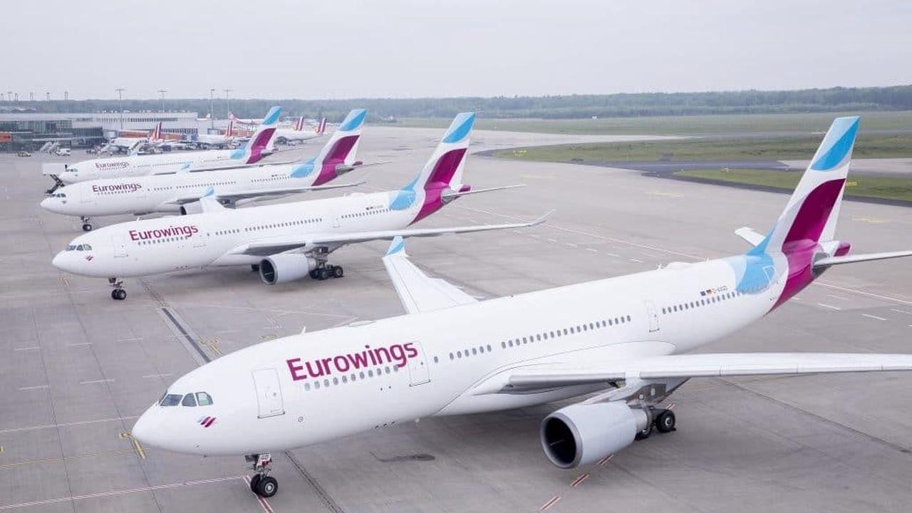 Eurowings Basic: Cabin-Trolley nicht mehr inkludiert