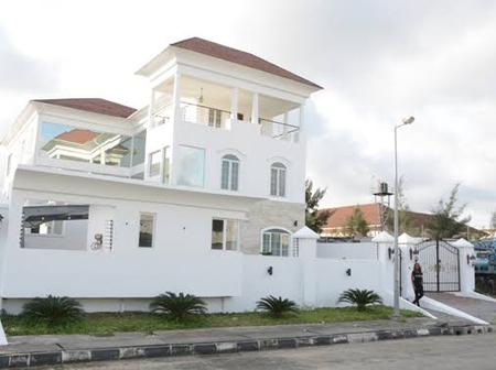See Mike Adenuga's House In Banana Island That Is Worth N8 Billion (See Photos).
