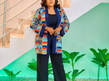 Photos that prove Toyin Abraham loves to take pictures at the same spot in her house