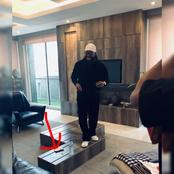 See What A Fan Noticed On The Table Of The Sitting Room Timaya Flaunted Online