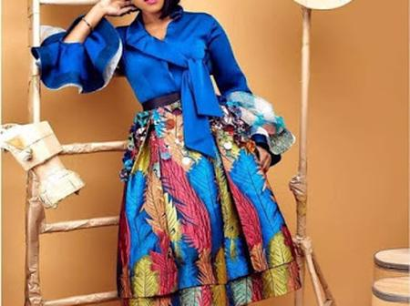 20+ Sophisticated Ankara Skirt And Blouse styles For Ladies