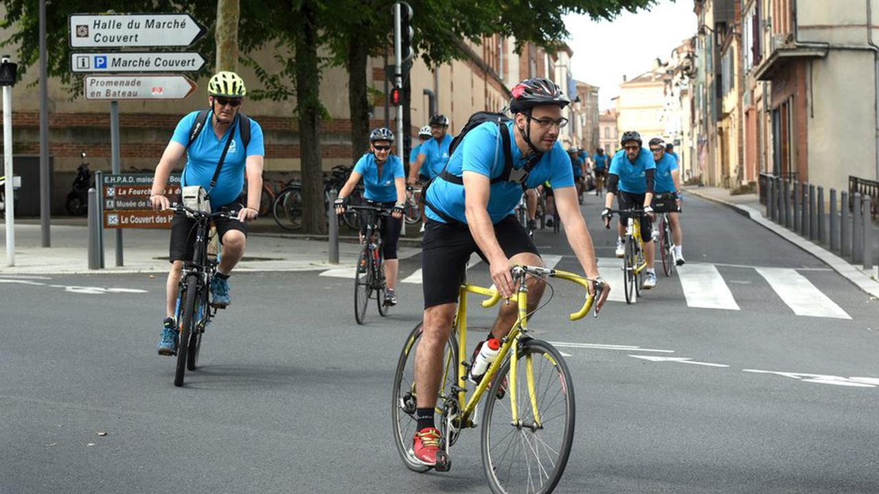 Mouilleron-Saint Germain. Des cyclotouristes font étape au Domaine Saint-Sauveur