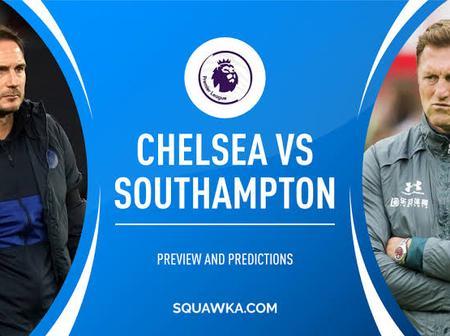 Chelsea vs Southampton available squad.