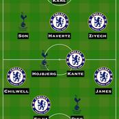 After Quality Draw Chelsea Vs Totenham Provides One Team Worthy of Team of the Week
