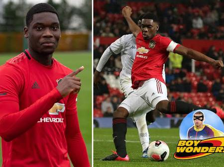 Teden Mengi: The teenager who could make a difference in Manchester United's defence.