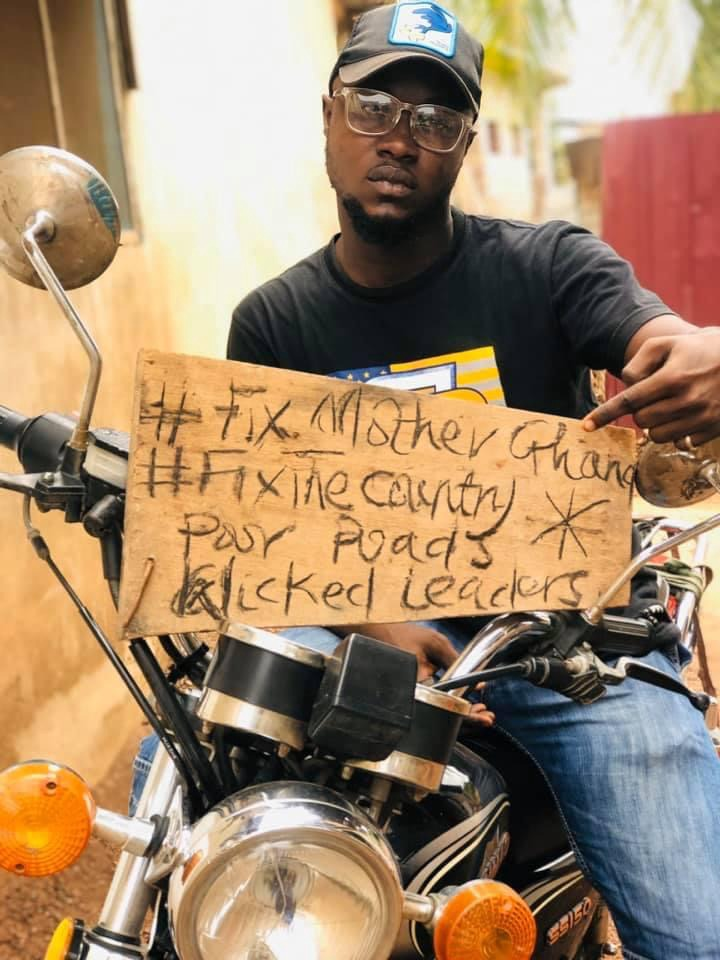 8158d80bc0a04825a1375c77923d8a84?quality=uhq&resize=720 - #FixTheCountry Protest Is On A Virtual Space As Protesters Post Pictures Of Their Demand Online