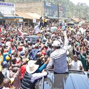 Ruto Excites Thousands of Youth in Meru County