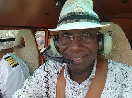 Rare Photo Of Fred Obachi Machoka When He Was GSU