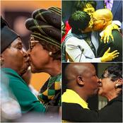 Winnie Mandela was a legend who embraced the custom of kissing as another way of greeting