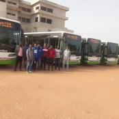 Bouaké : les premiers bus de la Sotra sont arrivés