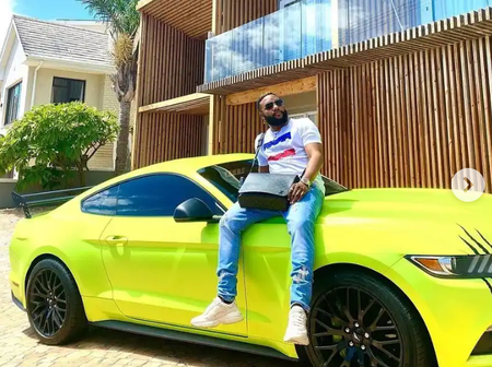 Emeka Okonkwo Alias E-Money Shows Off Multi-million Exotic Car, Says