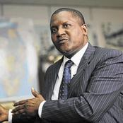 (Money Can't Buy Everything) 2 Things Dangote Can't Afford Despite His Richness