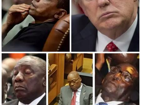 Sleeping Presidents on duty