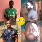Trending- Current State Of Aduana Stars Footballer Farouk Adams After Allegedly Killing A Police Man