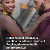 Corazon Kwamboka's Noticeable Reactions on Frankie And Maureen Waititu's Past IG Photos