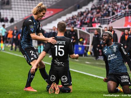 Nigerian star scores a debut goal for his new club in French Ligue 1