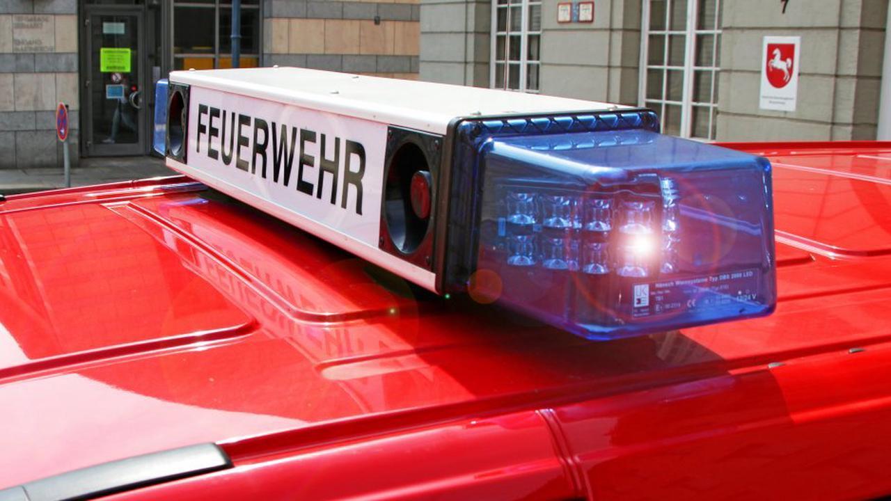 Feuerwehr-Großeinsätze nach Bränden in Lüneburg