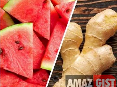 Blend Watermelon And Ginger, Drink A Cup Daily To Get These Health Benefits