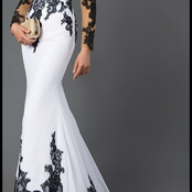 Twenty plus Long Lace Gowns For Your Events.