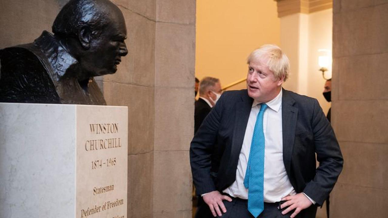 What would Churchill have done? Boris Johnson's US trip was a bit of a curate's egg