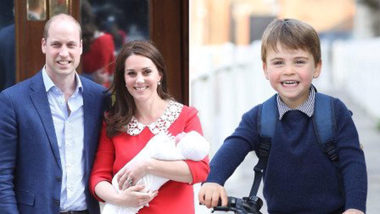 Birthday boy Prince Louis pictured on first day at nursery as he turns three