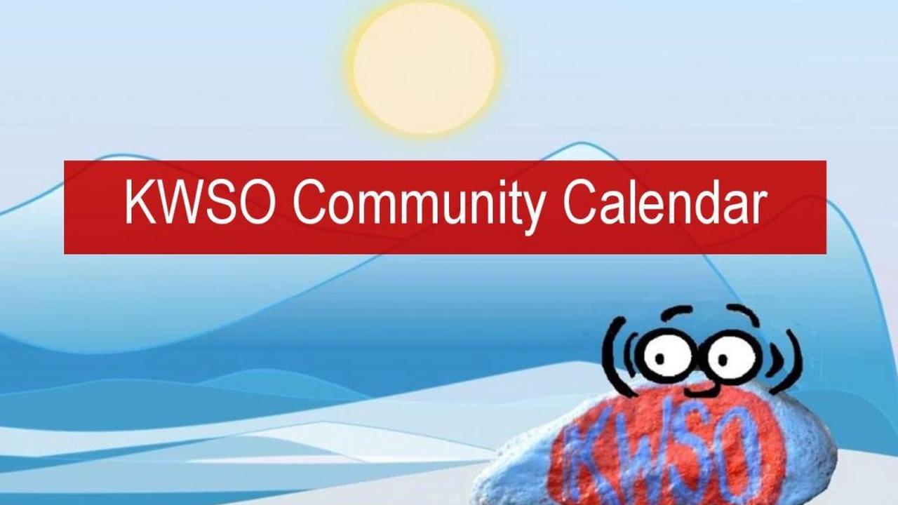 KWSO Calendar for Sun., Jan. 10, 2021
