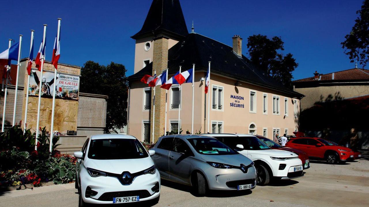 Les voitures électriques sur les routes du département ce week-end
