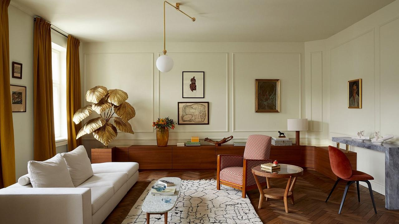 Marta Chrapka Revamps a Pre-War Apartment in Warsaw with Bespoke & Vintage Furnishings