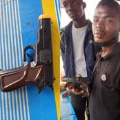 Police Arrests 2 Suspects Who Rob People Using Dummy Gun In Traffic