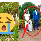 Sad:Beautiful wedding photos of the 29 years old girl who was murdered in Western Region causes stir