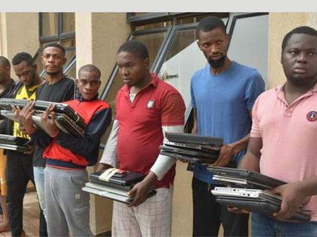Total Number Of Yahoo Boys And Girls EFCC Have Arrested In 3 Months