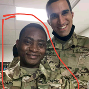 Photos and reactions as a young Nigerian joins the US Army