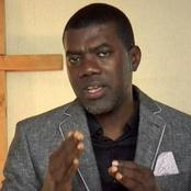 Reno Omokri Suspends Protest At Abuja House In London, See The Reason He Gave