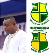 Chairman Wontumi breaks silence on whether he attended Prempeh College.