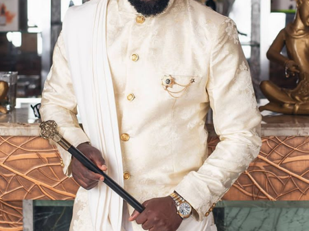 Just like Burnaboy, Ay makes a prophetic declaration