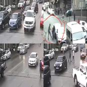 New Robbery Trick On Motorists: Robbers Up To Their Clever Tricks In Johannesburg CBD.