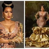 Juliet Ibrahim Stuns In A Beautiful Flowing Gown