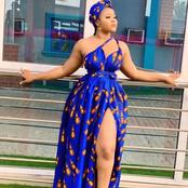 Slay hard with these Ankara maxi gown styles