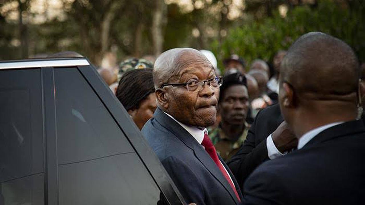 What Jacob Zuma Said to his family at the funeral will shake you