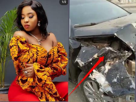 BBN Ex-Housemate, Cindy Okafor, Involved In A Ghastly Car Crash, Read What Later Happened To Her