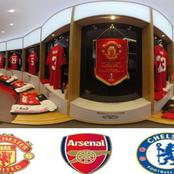 United, Chelsea Or Arsenal, Which Club Has The Best Dressing Room? (Photos)