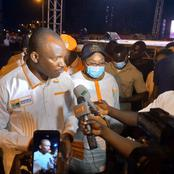 Daloa: le ministre Touré Mamadou annonce une bonne nouvelle aux jeunes au concert de clôture.